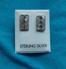 Sterling Silver madreperla orecchini 925