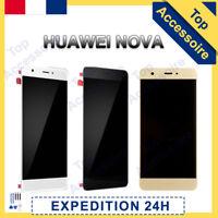 VITRE TACTILE + ECRAN LCD POUR HUAWEI NOVA NOIR / BLANC / OR + OUTILS / COLLE