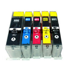 10 Ink Cartridge PGI-650XL CLI-651XL for Canon Pixma MG5560 MG6360 MG6660 MG5660