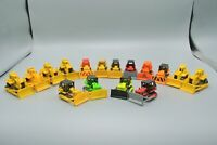 Hot Wheels & Matchbox Bulldozer Lot of 16 Diecast Vehicles 1979 Mattel China CAT