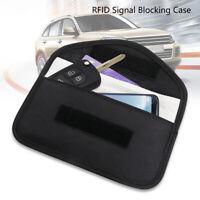 RFID  Phone Blocking Bag Signal Blocker Case Fob Pouch  Car Key  Faraday Cage