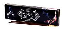 Nandita ARABIAN OUD Pure Agarwood Incense Sticks oudh 100g, Hand Rolled in India