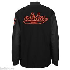 Adidas Original CS STADIUM JACKET Letterman superstar varsity sweat shirt~Sz 2XL