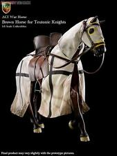 "DID ACI Toys 1/6 scale Brown War Horse For 12"" Teutonic Knights ACIH03B"