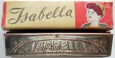 VINTAGE ARMONICA A 10 VOCI  ISABELLA MADE IN ITALY 60s