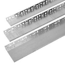 6x 2m 120mm Sockelschiene, Aluminium, U-Form Tropfkante, Sockelprofil