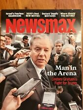 Newsmax Magazine Lindsey Graham's Fight for Trump Man in the Arena Jan 2020