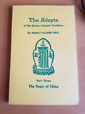 1957 1st Printing The Adepts In the Eastern Esoteric Tradition BY MANLY P. HALL