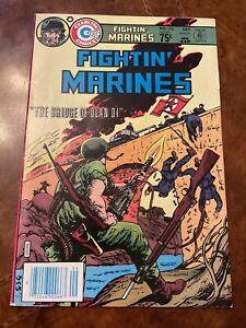 Charlton Fightin' Marines #176 comic book bronze age war 1984