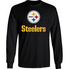 Pittsburgh Steelers Long T-Shirt Graphic Men Cotton PIT Pitt
