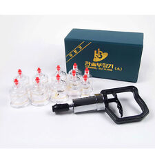 Hansol Massage Cupping Set 10 Cups High Quality Relief Pain Vacuum Therapy