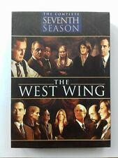 THE WEST WING - COMPLETE SEVENTH SEASON REGION 1 DVD BOX SET