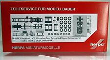 Herpa LKW  083768  Fahrgestell Mercedes-Benz 8x4 Baufahrzeuge Inhalt: 2 Stück