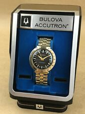Bulova Accutron Astronaut 14K Solid Gold Bezel Vintage Watch with Original Case
