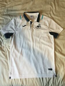 Swansea City AFC Football Club Polo Shirt Mens M Medium BNWOT NEW