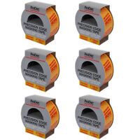 6 x Rolls 48mm x 50m Prodec Advance Trade Precision Edge Painting Masking Tape