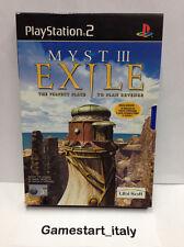 MYST 3 III EXILE (PS2) VIDEOGIOCO USATO PERFETTAMENTE FUNZIONANTE - PAL VERSION