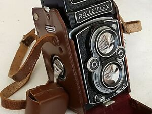 Rolleiflex 3.5B 6x6 Zeiss Tessar 75mm f3.5 *** IN PERFECT WORKING ORDER ***