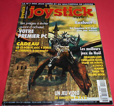 Magazine Joystick [n°55 Déc 94]Amiga 1200 PC Aladdin Cannon Fodeder Lemmings JRF