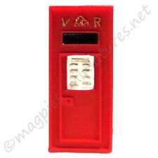 Doll house 12th scale : Wall Post Box - Street Accessories