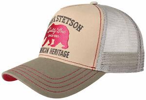 Stetson Trucker Cap Baseball Mesh Snap Cap Jbs Bear 53 New Trend