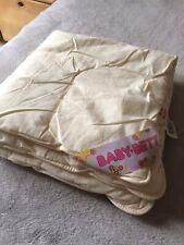 dänisches bettenlager Baby Zudecke 80x80 cm Leicht Hypoallergen Gebraucht