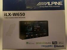 Alpine iLX-W650 Digital Receiver Apple CarPlay and Android Auto Compatibility