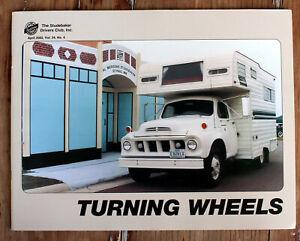 Studebaker Turning Wheels Magazine, April 2002 Vol 34 No 4 1962 Series 7E Trucks