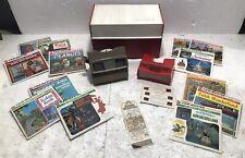 Vintage Viewmaster Lot - Tons Of Reels, 2 Viewers &  Storage Case & Stori-views!