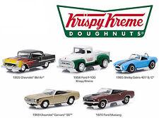 "Motor World 5 Car Diorama ""Krispy Kreme Donut Shop"", Greenlight 1:64"