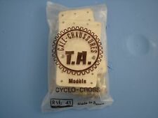**NOS T.A. J. ANQUETIL VINTAGE SHOE CLEATS MODELE CROSS