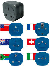 Brennenstuhl UK Travel Plug Adapter Set x 6 for use in over 150 Countries