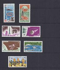 French Polynesia 1965-66 7 different sets (Scott C38-44) Vf Mlh