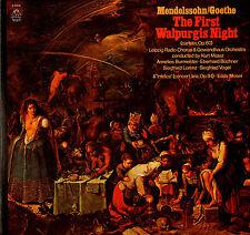 CLASSICAL LP MENDELSSOHN / GOETHE FIRSTWALPURGIS NIGHT BURMEISTER BUCHNER