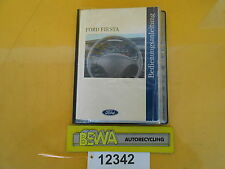 Bedienungsanleitung       Ford Fiesta III  GFJ         Bj.96      Nr.12342/E
