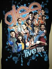 GLEE LIVE TOUR 2011 SMALL CORY MONTEITH T- SHIRT OUT OF PRINT