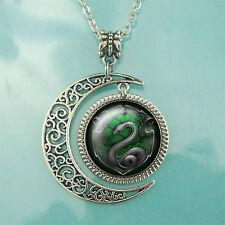 Harry Potter necklace Harry Potter Salazar Slytherin pendant Snake jewelry Gifts