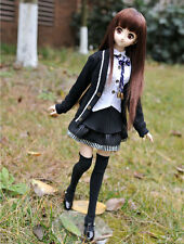 1/4 bjd MSD MDD Dollfie Dream Doll Outfits School Uniform #SEN-83MD ship US