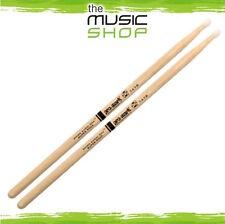 3x Pairs of ProMark Shira Kashi Oak 747 Rock Drumsticks With Oval Nylon Tips