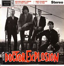 EP DOCTOR EXPLOSION bye bye sweet cream 45 SPAIN 1990 GARAGE mod INSERT ENCARTE