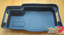 2018 Jeep Wrangler JL Cargo Area Tray Tub Liner with Jeep Logo Mopar OEM