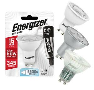 Energizer LED GU10 Spotlight Bulbs Warm, Cool or Daylight 35w 50w 60w Equivalent