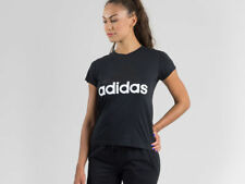 Adidas Essentials Linear Donna Fitness Maglia Parte superiore Top Sport T-shirt B45786 2xl