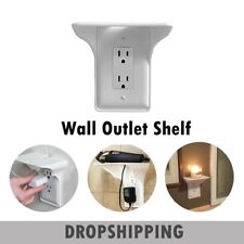 Wall Outlet Shelf Holder Charging Socket Storage Power Perch Multifunction Rack