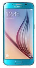 "Samsung Galaxy S6 SM-G920 32GB, 5.1"" Display, 16MP Camera, (Unlocked) Smartphone - Blue Topaz Sm-g920f Unlocked - &"