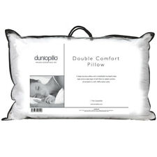 Dunlopillo Double Comfort Pillow Latex Soft Spiral Fibre Luxury Medium Support
