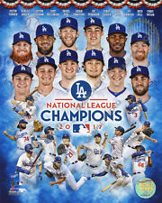 Los Angeles Dodgers 2017 National League Champions Composite 8x10 Team Photo