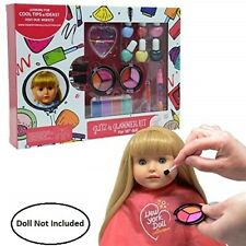More details for washable makeup set for dolls and kids - pretend play cosmetic set