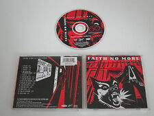 FAITH NO MORE/KING FOR A DAY FOOL FOR A LIFE...(SLASH-LONDON 828 560-2) CD ALBUM