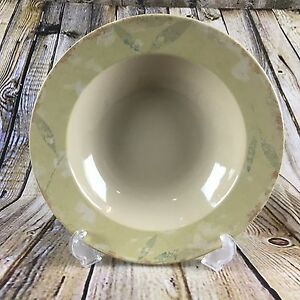 """Pier 1 Imports Antiqued 9.25"""" Diameter Stoneware Soup Bowl"""
